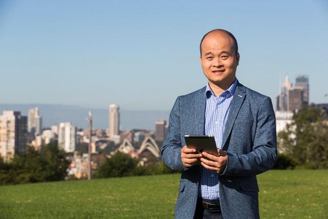 Anh Đào Xuân Hoàng, cựu sinh viên UTS Insearch và là người sáng lập ứng dụng Monkey Junior