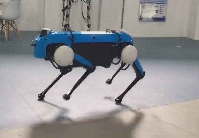 Robot 4 chân mới ra mắt của đại học Hàng Châu