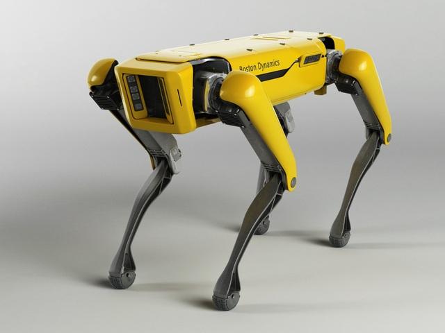 ... được cho là đã sao chép thiết kế robot SpotMini của Boston Dynamics