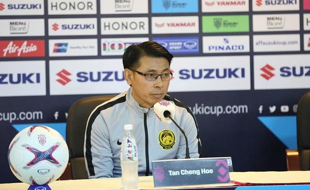 HLV Tan Chang Hoe tỏ ra đầy tự tin về cuộc tái đấu lần thứ ba với Việt Nam của HLV Park Hang Seo