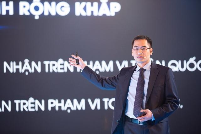 Ông Trần Minh Trung - Tổng Giám đốc Công ty VinSmart