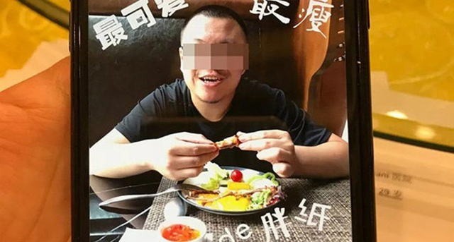 Ảnh của Zhang trên điện thoại của vợ, cũng là nạn nhân trong vụ việc