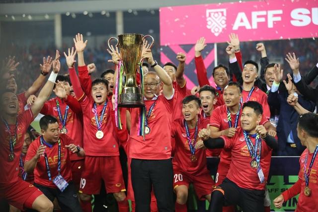 HLV Park Hang Seo đã mang đến những chiến công rực rỡ cho bóng đá Việt Nam trong năm 2018