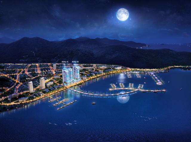 Dự án Swisstouches La Luna Resort được chủ đầu tư Marina Hotel .JSC xây dựng tại khu A,B