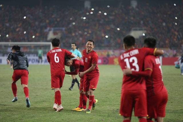 Anh Đức chính là người hùng đêm 15/12 của đội tuyển Việt Nam