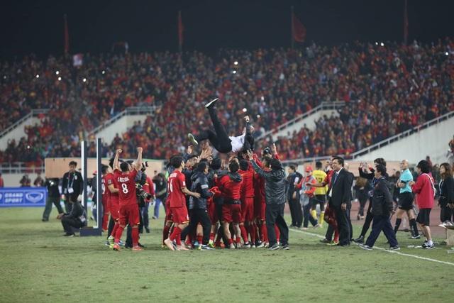 Triết lý bóng đá ra sân phải chiến thắng của thầy Park đã thổi vào tinh thần thi đấu của cầu thủ Việt Nam