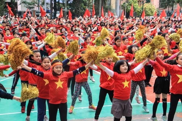Học sinh Trường Liên cấp Ngôi Sao, Hà Nội.