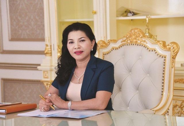 Bà Đặng Thị Kim Oanh, Tổng giám đốc Công ty cổ phần Địa ốc Kim Oanh (Kim Oanh Real)
