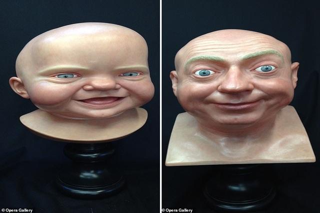 Những tác phẩm của nghệ sĩ điêu khắc John Humphreys.