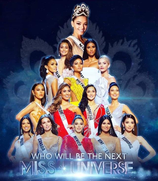H'Hen Niê xuất sắc lọt top 5, người đẹp Philippines đăng quang Hoa hậu Hoàn vũ 2018 - 27