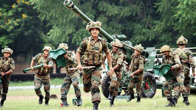 Quân đội Ấn Độ (Ảnh: DNA India)