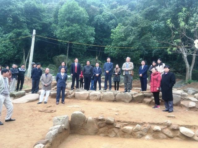 Đây là cuộc khai quật đầu tiên tại địa điểm chùa Am Các.