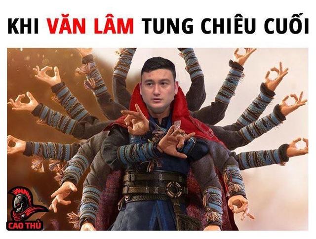 """Phải chăng đây chính là """"chiêu thức"""" giúp thủ môn Đặng Văn Lâm đứng vững trước những cú đá của đối thủ (Ảnh: Cao Thủ)"""