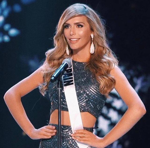 Hoa hậu Tây Ban Nha - Angela Ponce là người đẹp chuyển giới đầu tiên tham dự Hoa hậu Hoàn vũ.