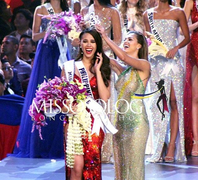 Catriona Gray đến từ Phillippines đăng quang Hoa hậu Hoàn vũ 2018.