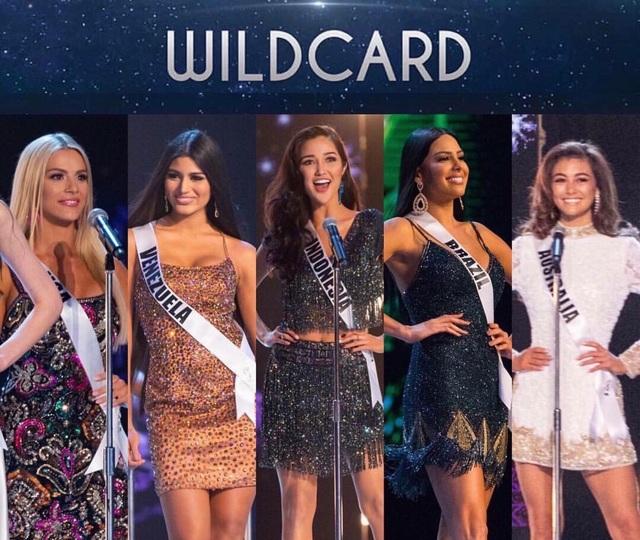 5 thí sinh đẹp được giám khảo lựa chọn ngẫu nhiên