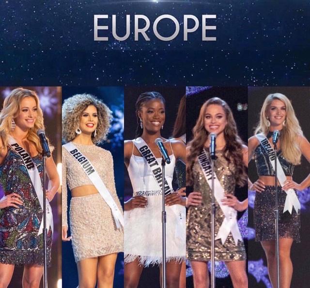 5 thí sinh đẹp nhất khu vực châu Âu