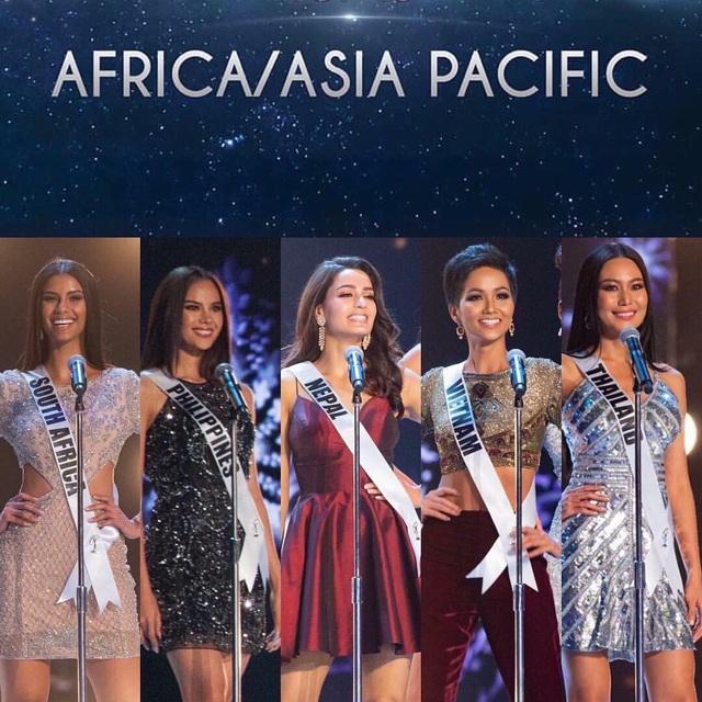 5 thí sinh đẹp nhất khu vực châu Á Thái Bình Dương