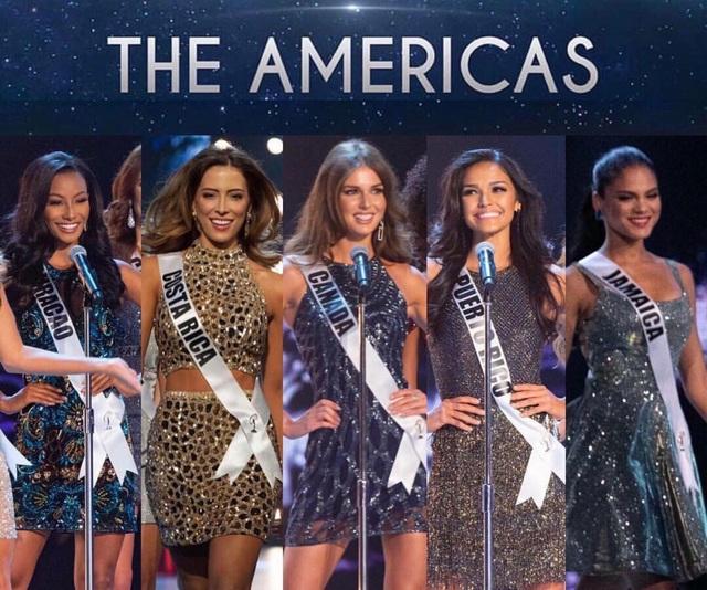 5 thí sinh đẹp nhất khu vực châu Mỹ