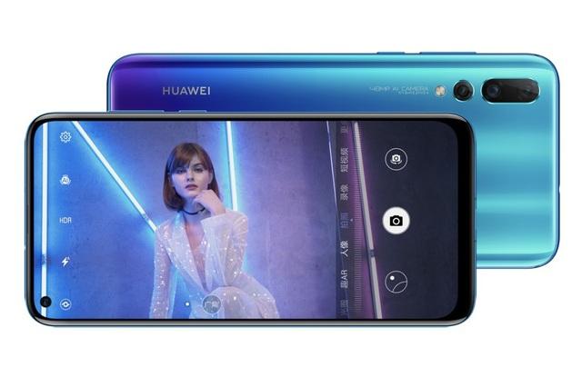 Nova 4 với camera trước ngay trên màn hình sản phẩm