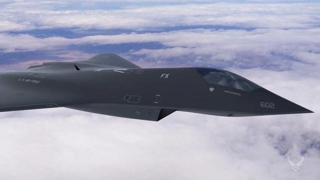 Máy bay chiến đấu thế hệ mới của Mỹ dưới dạng ý tưởng (Ảnh: Air Force Research Laboratory)