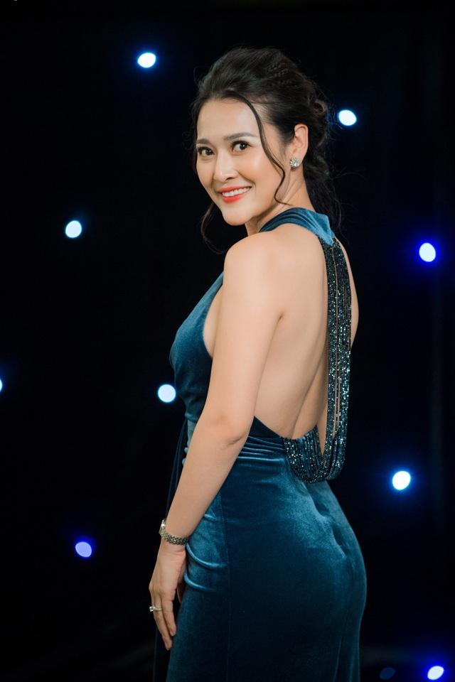 MC Lê Thuỳ Linh.