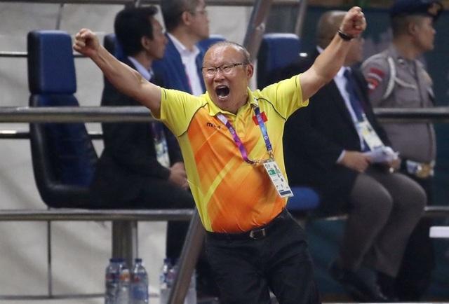 Huấn luyện viên Park Hang Seo (Ảnh: Yonhap)