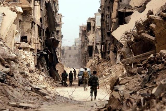 Thị trấn HaJin nằm trong quyền kiểm soát của SDF