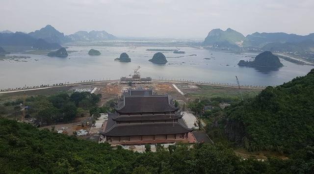 Chùa Tam Chúc (Hà Nam) hàng chục ngàn tỷ đang được doanh nghiệp này gấp rút xây dựng