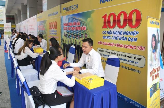 Dự kiến sẽ có hơn 5.000 sinh viên chuẩn bị tốt nghiệp tham gia Ngày hội.
