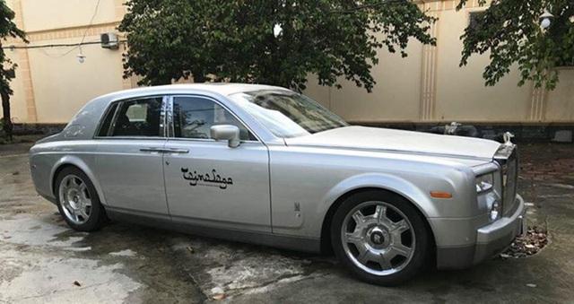 Đây là chiếc Rolls-Royce Phantom đầu tiên được đưa về Việt Nam.