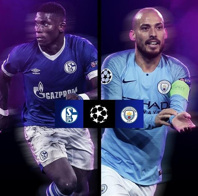 Man City đối đầu Schalke không phải quá mạnh