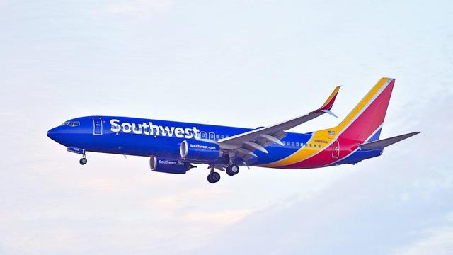 Sự cố hi hữu đã xảy ra với một chuyến bay của hãng hàng không giá rẻ Southwest Airlines của Mỹ