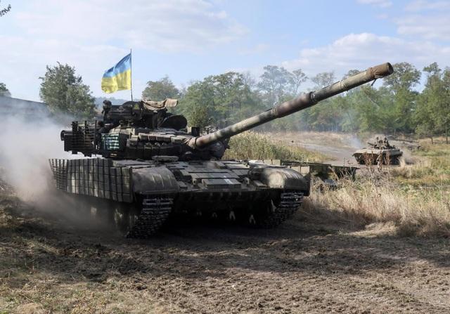 Một xe tăng của quân đội Ukraine (Ảnh: National Interest)