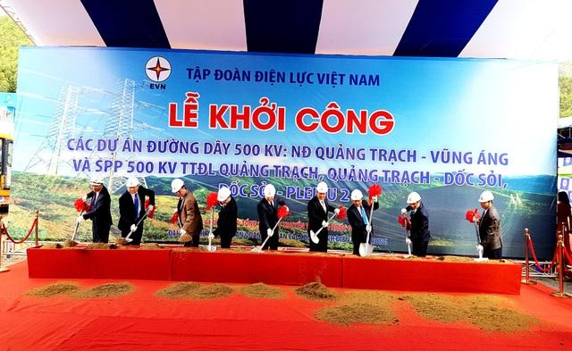 Phó Thủ tướng Trịnh Đình Dũng cùng lãnh đạo các bộ, ngành Trung ương và địa phương khởi công dự án