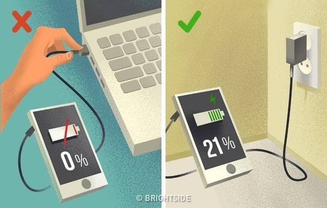 5 cách sạc pin điện thoại hiệu quả nhất - 3