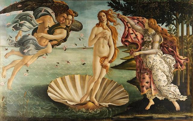 Bức họa được thực hiện hồi thế kỷ 15 khắc họa dung mạo thần Vệ Nữ - nữ thần của tình yêu và sắc đẹp.
