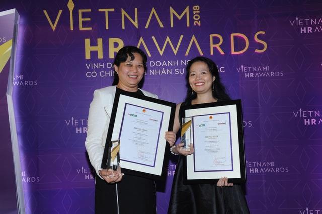 Nestlé Việt Nam đã được vinh danh với giải thưởng về Chính sách lương thưởng – Phúc lợi và Quản lý Nhân tài giải thưởng nhân sự Việt Nam HR AWARDS tháng 11 vừa qua.