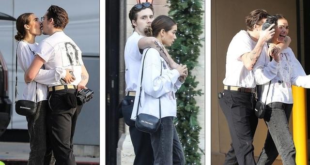 Cậu cả nhà Beckham và người mẫu không tên tuổi này chỉ mới bắt đầu hẹn hò