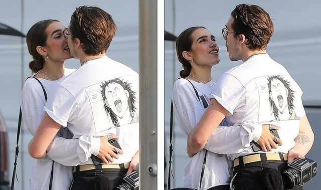 Tuần trước anh chàng 19 tuổi chia sẻ hình ảnh nắm tay bạn gái dự lễ trao giải của hiệp hội thời trang Anh quốc