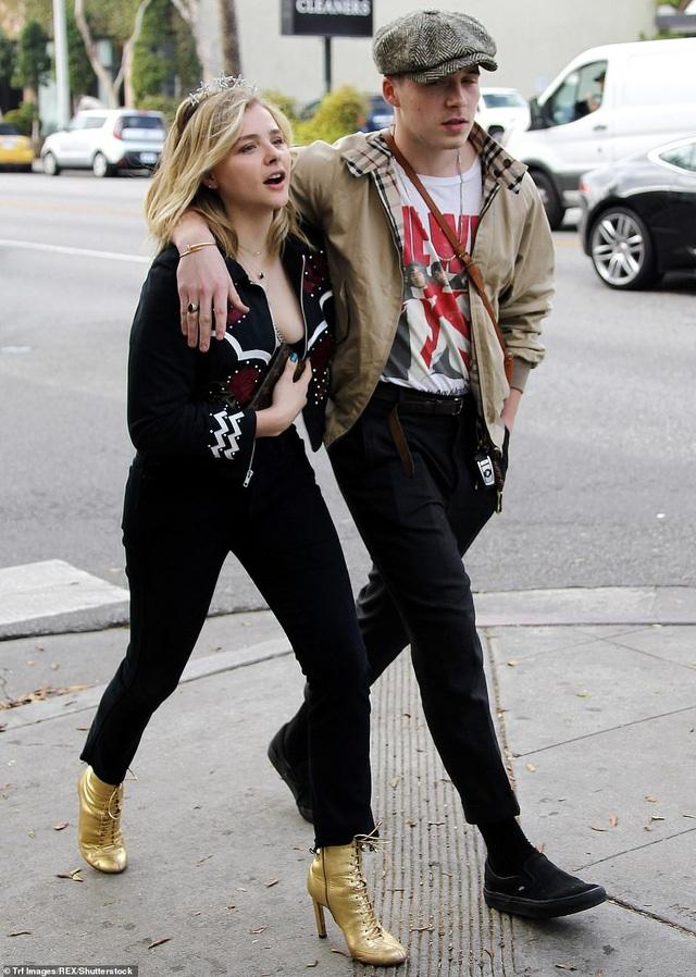 Brooklyn từng hẹn hò với nữ diễn viên Chloe Moretz và chia tay hồi đầu năm