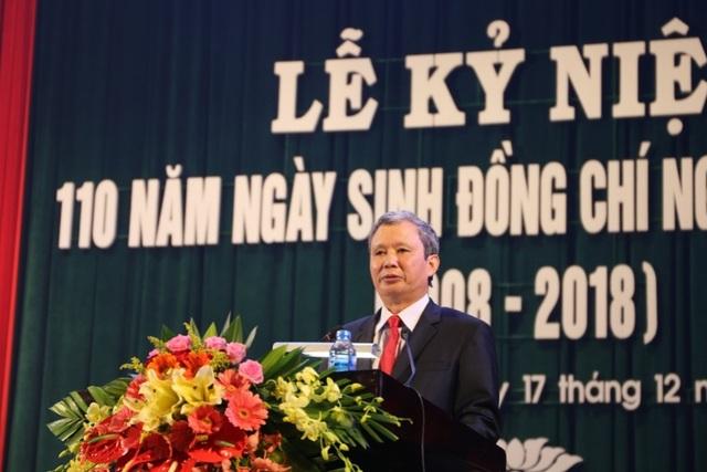Bí thư Tỉnh ủy Thừa Thiên Huế Lê Trường Lưu phát biểu tại buổi lễ