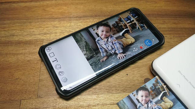 Cận cảnh máy in ảnh nhỏ nhất của Canon tại Việt Nam - 7