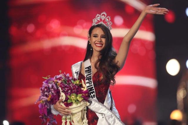Hoa hậu Hoàn vũ thế giới 2018 từ Philippines, cô Catriona Gray (Ảnh: Reuters)