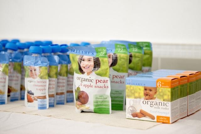 Thực phẩm hữu cơ ngày càng được người tiêu dùng ưa chuộng.
