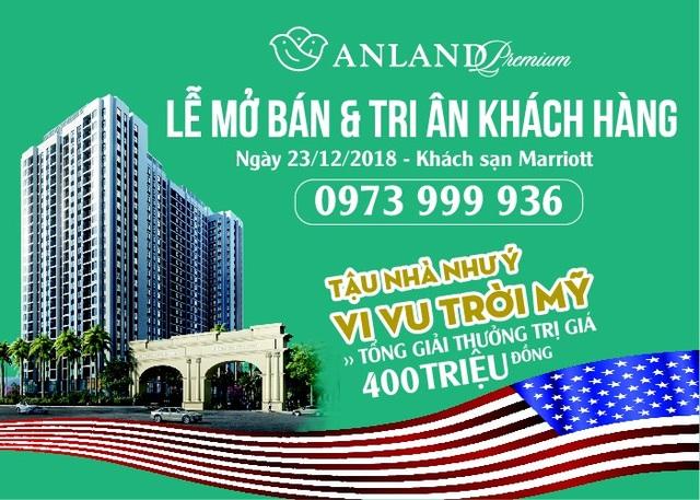 Những phần quà giá trị trong Lễ Mở bán và Tri ân khách hàng Dự án Anland Premium
