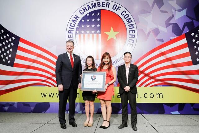 Đây là năm thứ 4 Coca-Cola nhận Giải thưởng Amcham vì những nỗ lực tích cực mang lại cho nền kinh tế - xã hội Việt Nam.