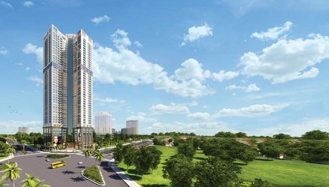 Golden Park Tower và mô hình căn hộ trung tâm, hưởng trọn vẹn