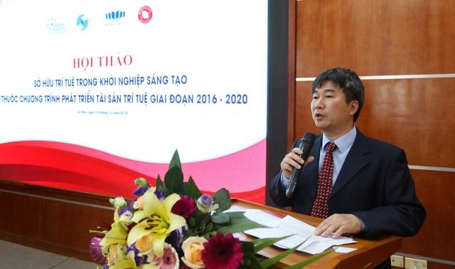 Ông Phan Ngân Sơn – Phó Cục trưởng Cục Sở hữu trí tuệ.
