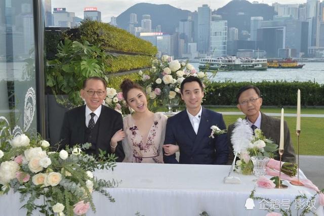 Chung Hân Đồng xinh như công chúa trong tiệc cưới ngoài trời - Ảnh 5.